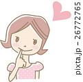 女性 若い ベクターのイラスト 26772765