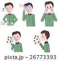 風邪の症状 男性 26773393