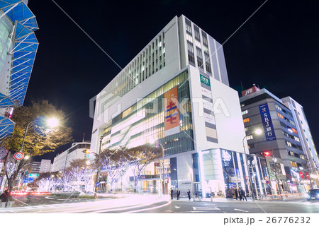 名古屋・栄・都市風景 大津通り 三ッ蔵通大津交差点 ラシック 夜景 26776232