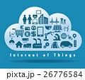 IoT クラウド コンピューティングのイラスト 26776584