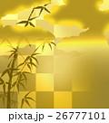 和風 和 背景のイラスト 26777101