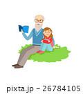 おじいさん お爺さん 祖父のイラスト 26784105