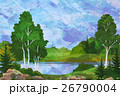 Landscape with Trees and Lake 26790004