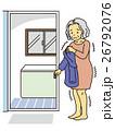 おばあさん脱衣 26792076