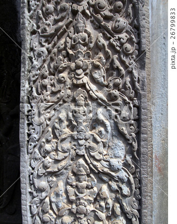 アンコールワットの彫刻 26799833