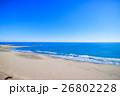 山武郡九十九里町 片貝海水浴場付近を空撮 26802228