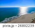 海 九十九里浜 砂浜の写真 26802239