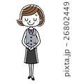 ベクター 人物 女性のイラスト 26802449