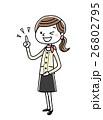 ベクター 人物 女性のイラスト 26802795