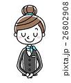 ベクター 人物 女性のイラスト 26802908