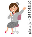 女性社員 会社員 女性のイラスト 26803310