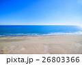 山武郡九十九里町 作田海水浴場付近を空撮 26803366