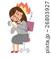 女性社員 会社員 女性のイラスト 26803927