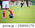 サッカーをする少年 イメージ 26804176