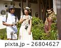 人物 沖縄 シーサーの写真 26804627