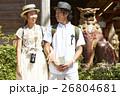 人物 沖縄 シーサーの写真 26804681