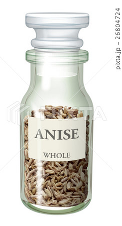スパイス瓶_アニスのイラスト素材 [26804724] - PIXTA