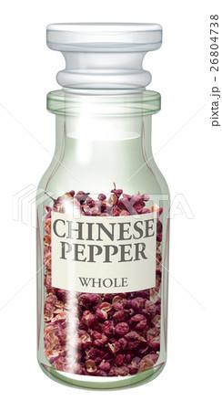 スパイス瓶_花椒のイラスト素材 [26804738] - PIXTA