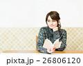 カフェ 人物 女性の写真 26806120