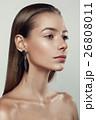 Beautyful girl with nude make up 26808011