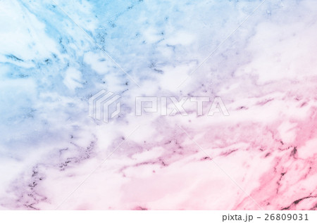 Pastel blue and pink marble stone texture 26809031