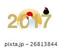 2017年 酉年 酉のイラスト 26813844