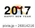 2017年 酉年 酉のイラスト 26814216