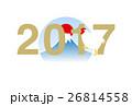2017年 酉年 酉のイラスト 26814558