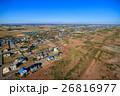 山武市 白幡 本須賀海水浴場付近を空撮 26816977