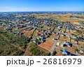 山武市 白幡 本須賀海水浴場付近を空撮 26816979