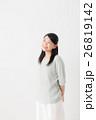 笑顔 女性 20代の写真 26819142