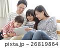 家族 タブレット 視聴の写真 26819864