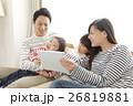 家族 タブレット 視聴の写真 26819881