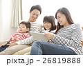 家族 タブレット 視聴の写真 26819888