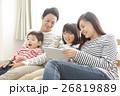 家族 タブレット 視聴の写真 26819889