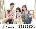 家族 タブレット 視聴の写真 26819891