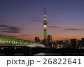 東京スカイツリー シャンパンツリー ライトアップの写真 26822641