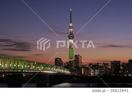 東京スカイツリー・シャンパンツリー 26822641