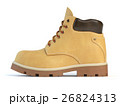 Yellow boot isolated on white background. 26824313