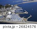 空撮 航空写真 江ノ島ヨットハーバーの写真 26824576