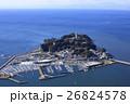 江ノ島上空/空撮 26824578