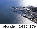 空撮 航空写真 江ノ島ヨットハーバーの写真 26824579