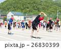 運動会イメージ(準備体操) 26830399