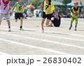 運動会イメージ(リレー) 26830402