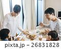 家族 食事 朝食の写真 26831828