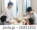 人物 家族 ファミリーの写真 26831832