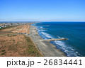 九十九里一宮町釣ヶ崎海岸 一宮東浪見海岸周辺を空撮 26834441