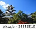 高知城と雲 26836515
