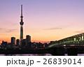東京スカイツリー シャンパンツリー ライトアップの写真 26839014