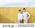 人物 笑顔 夫婦の写真 26842038